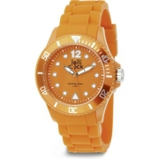 Armbanduhr Lolli Clock - orange - mit Gravur